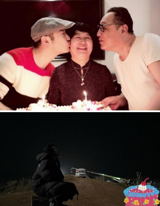 Huỳnh Hiểu Minh đăng ảnh sinh nhật lủi thủi: Triệu Vi chúc mừng nhưng Angela Baby lại thờ ơ - Ảnh 2