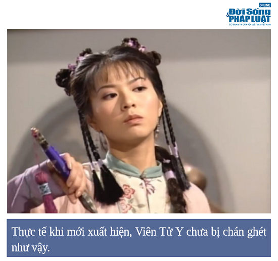 Nữ chính bị ghét nhất trong tiểu thuyết kiếm hiệp Kim Dung - Ảnh 1
