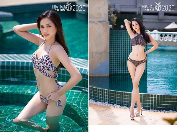 """Ngắm loạt ảnh bikini """"bỏng rẫy"""" của thí sinh Hoa hậu Việt Nam trước đêm chung kết - Ảnh 2"""