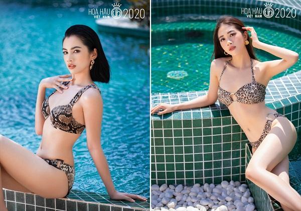 """Ngắm loạt ảnh bikini """"bỏng rẫy"""" của thí sinh Hoa hậu Việt Nam trước đêm chung kết - Ảnh 6"""
