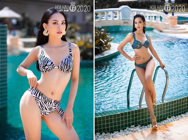 """Ngắm loạt ảnh bikini """"bỏng rẫy"""" của thí sinh Hoa hậu Việt Nam trước đêm chung kết - Ảnh 7"""