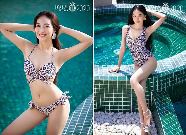 """Ngắm loạt ảnh bikini """"bỏng rẫy"""" của thí sinh Hoa hậu Việt Nam trước đêm chung kết - Ảnh 8"""