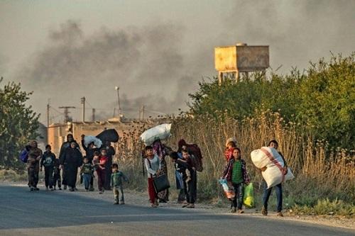 Tình hình chiến sự Syria ngày 4/11: Phiến quân thân Thổ Nhĩ Kỳ nã pháo vào vùng an toàn - Ảnh 1