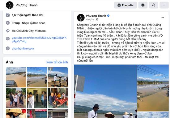 """Phương Thanh sẽ làm việc với sở TT&TT Quảng Ngãi về phát ngôn """"mặt trái của từ thiện"""" - Ảnh 2"""