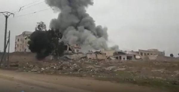 Tình hình chiến sự Syria mới nhất ngày 16/12: Nga lại dội bom oanh tạc khủng bố IS - Ảnh 2