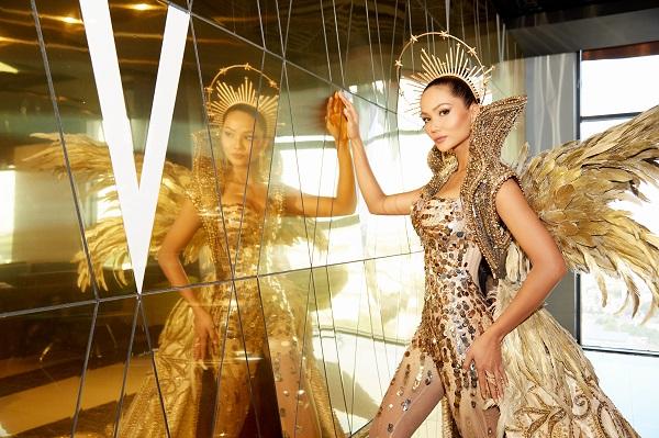 """""""Wonder Woman"""" H'Hen Niê tiếp tục gây ấn tượng khi trở thành """"Nữ thần Mặt trời"""" - Ảnh 3"""