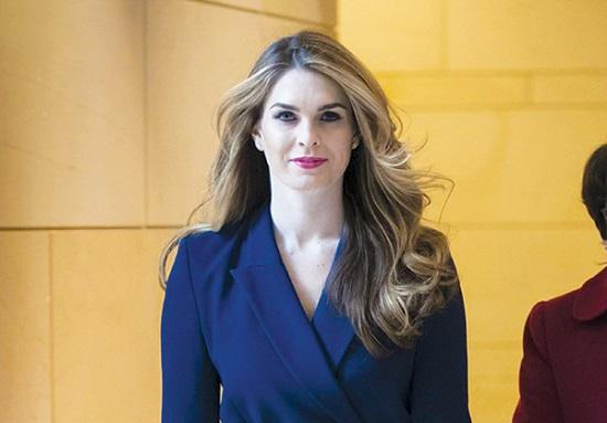 Giám đốc truyền thông Nhà Trắng Alyssa Farah từ chức - Ảnh 1