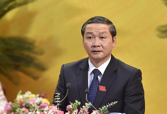 Ông Đỗ Minh Tuấn được bầu giữ chức Chủ tịch UBND tỉnh Thanh Hóa - Ảnh 1