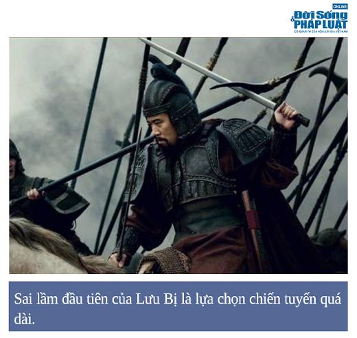 Tam Quốc Diễn Nghĩa: Trận chiến lộ rõ khả năng cầm quân non nớt của Lưu Bị - Ảnh 1