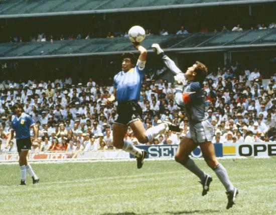 """Maradona cùng khoảnh khắc """"Bàn tay của Chúa"""" được đề xuất in lên tiền giấy - Ảnh 1"""