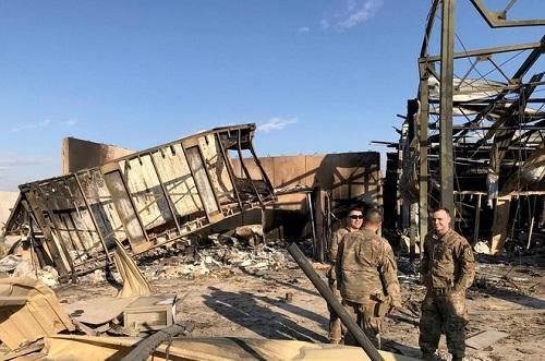 Căn cứ có lực lượng của Mỹ đóng quân tại Iraq lại bị tấn công bằng rocket - Ảnh 2