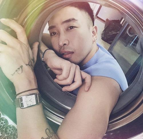"""Sao Việt """"cực khổ"""" với trào lưu chụp ảnh trong lồng máy giặt - Ảnh 5"""