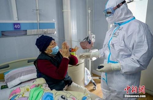 Mục sở thị bên trong bệnh viện chống dịch Covid-19 Hỏa Thần Sơn ở Vũ Hán - Ảnh 4