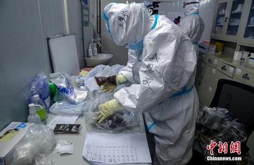 Mục sở thị bên trong bệnh viện chống dịch Covid-19 Hỏa Thần Sơn ở Vũ Hán - Ảnh 6