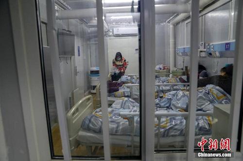 Mục sở thị bên trong bệnh viện chống dịch Covid-19 Hỏa Thần Sơn ở Vũ Hán - Ảnh 7