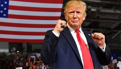 Tổng thống Donald Trump nhiều cơ hội tái đắc cử khi tỷ lệ tín nhiệm gia tăng - Ảnh 1