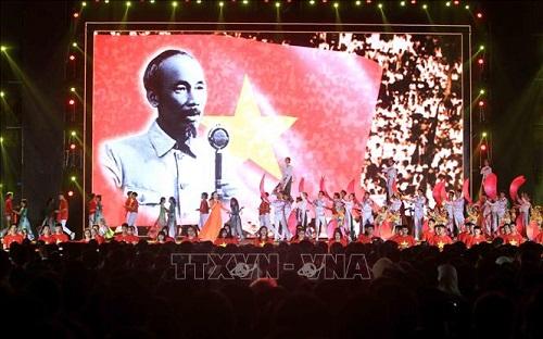 Cầu truyền hình trực tiếp Chương trình 'Ánh sáng niềm tin' kỷ niệm 90 năm Ngày thành lập Đảng  - Ảnh 5