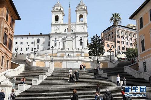 Nhịp sống ở thủ đô Roma ngày đầu Italy phong tỏa cả đất nước vì Covid-19 - Ảnh 2