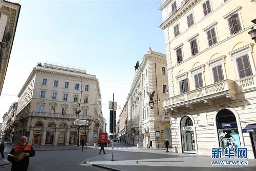 Nhịp sống ở thủ đô Roma ngày đầu Italy phong tỏa cả đất nước vì Covid-19 - Ảnh 3