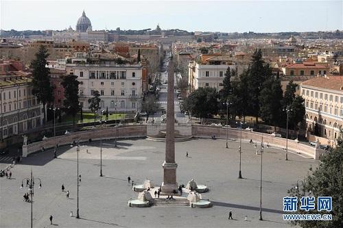 Nhịp sống ở thủ đô Roma ngày đầu Italy phong tỏa cả đất nước vì Covid-19 - Ảnh 4