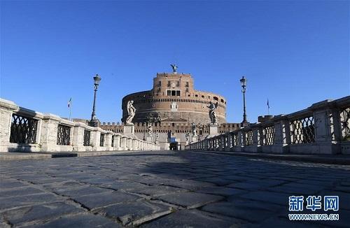 Nhịp sống ở thủ đô Roma ngày đầu Italy phong tỏa cả đất nước vì Covid-19 - Ảnh 7