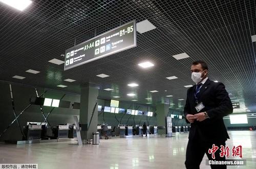 Nhiều sân bay trên khắp thế giới lún sâu trong cảnh tiêu điều vì đại dịch Covid-19 - Ảnh 4