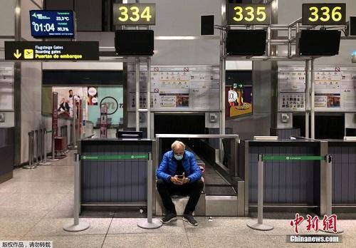 Nhiều sân bay trên khắp thế giới lún sâu trong cảnh tiêu điều vì đại dịch Covid-19 - Ảnh 5