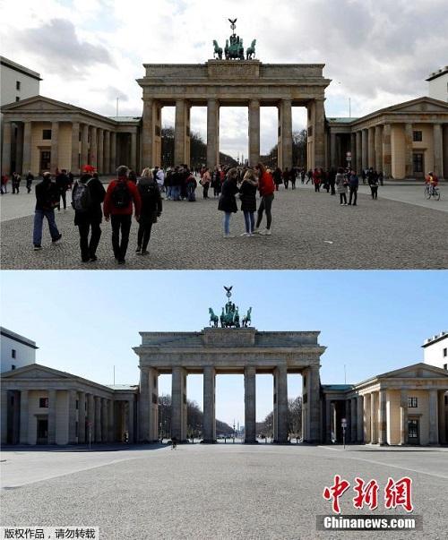 Hình ảnh trái ngược của các danh thắng thế giới trước và sau khi dịch Covid-19 bùng phát - Ảnh 5