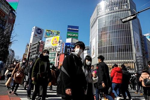 Nhật Bản: 7% người dân ở ToKyo tự cảm thấy có triệu chứng nhiễm Covid-19 - Ảnh 1