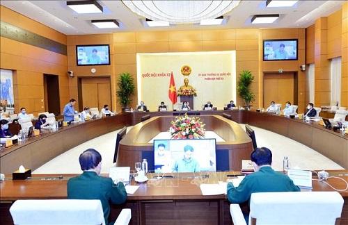 Ủy ban Thường vụ Quốc hội cho ý kiến 6 dự án luật tại Phiên họp thứ 44 - Ảnh 1