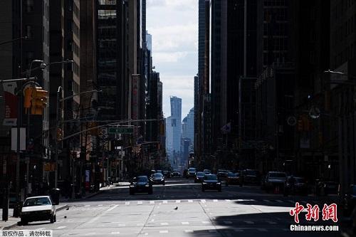 New York trống vắng giữa cơn khủng hoảng dịch bệnh Covid-19 - Ảnh 6