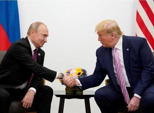 Lần hiếm hoi 2 nhà lãnh đạo Mỹ và Nga ra tuyên bố chung - Ảnh 1