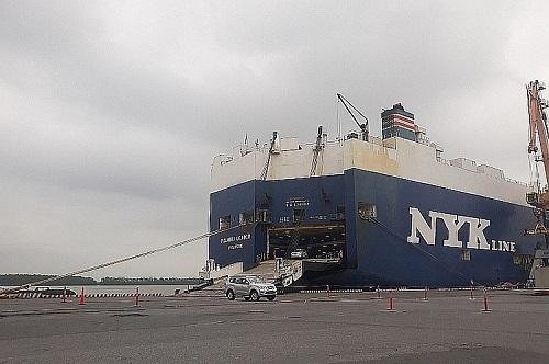 Hàng chục chiếc ô tô mới cứng bị bỏ quên ở cảng Hải Phòng - Ảnh 1