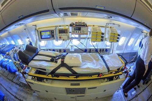 """Đức điều động """"bệnh viện bay"""" đến Italy giúp điều trị bệnh nhân mắc Covid-19 nặng - Ảnh 5"""