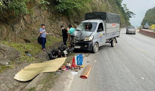 Va chạm với xe tải, nam thanh niên tử vong trên đường về quê nghỉ lễ - Ảnh 2