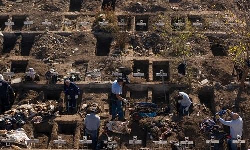 Tình hình dịch virus corona ngày 15/5: Chile đào sẵn hàng nghìn mộ đón sóng Covid-19 - Ảnh 1