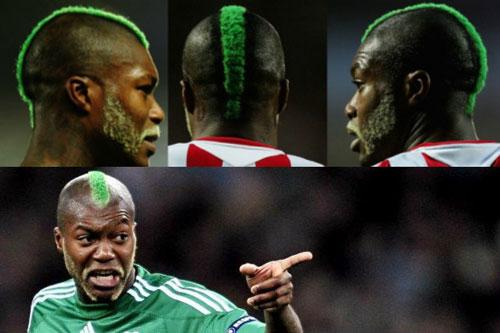"""Giật mình vì những mẫu tóc """"theo kiểu chẳng giống ai"""" của các cầu thủ bóng đá thế giới - Ảnh 6"""