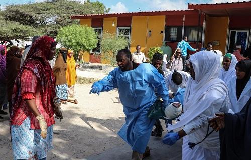 Nổ lớn tại lễ hội ở Somalia, hơn 20 người thương vong - Ảnh 1