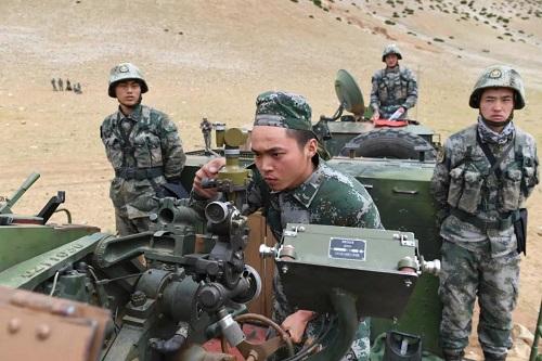 Trung Quốc tập trận bắn đạn thật ngay gần khu vực xung đột với Ấn Độ - Ảnh 1