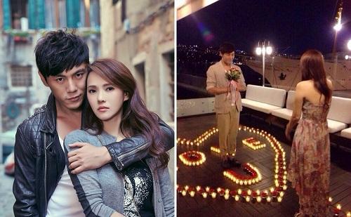 """Những màn cầu hôn lãng mạn """"ngọt lịm tim"""" như phim ngôn tình của sao Hoa Ngữ - Ảnh 4"""
