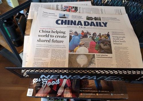 Thêm 4 hãng truyền thông Trung Quốc bị Mỹ siết chặt kiểm soát - Ảnh 1