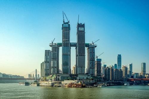 Chùm ảnh tòa nhà nằm ngang cao nhất thế giới tại Trung Quôc - Ảnh 1