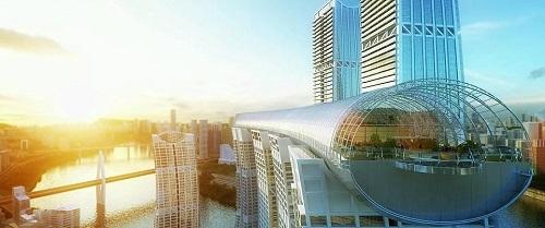 Chùm ảnh tòa nhà nằm ngang cao nhất thế giới tại Trung Quôc - Ảnh 7