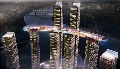 Chùm ảnh tòa nhà nằm ngang cao nhất thế giới tại Trung Quôc - Ảnh 5