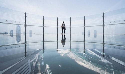 Chùm ảnh tòa nhà nằm ngang cao nhất thế giới tại Trung Quôc - Ảnh 6