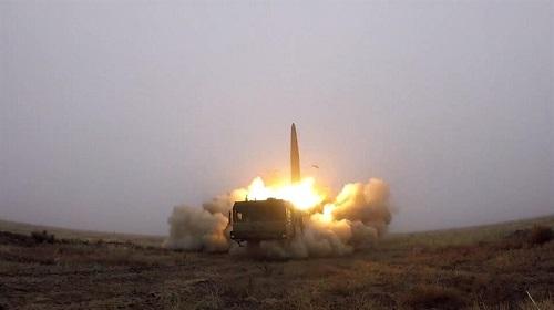 Tình hình chiến sự Syria mới nhất ngày 26/6: Nga đưa tên lửa Iskander-M khi quay lại Syria - Ảnh 1