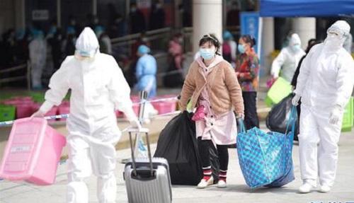 3 bệnh nhân nhiễm Covid-19 cuối cùng ở Vũ Hán được xuất viện - Ảnh 1