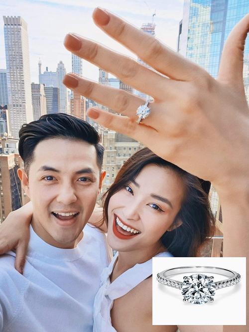 Cận cảnh những chiếc nhẫn đính hôn độc đáo, giá trị của sao Việt - Ảnh 4