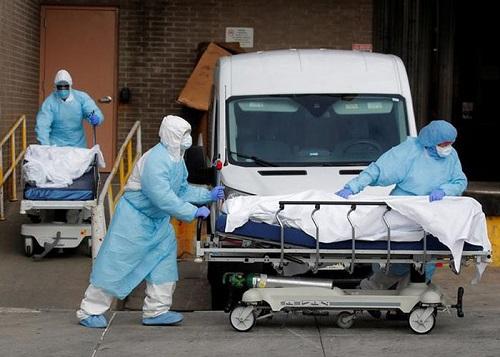 Thế giới ghi nhận 1 triệu ca nhiễm Covid-19 trong 100 giờ, các nhà xác Mỹ quá tải - Ảnh 1