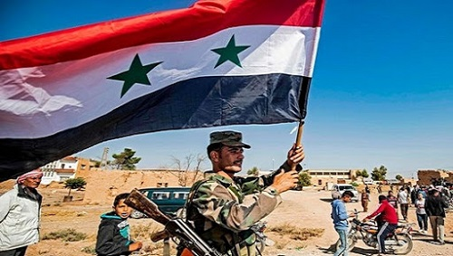 """Tình hình chiến sự Syria mới nhất ngày 17/8: """"Xe tăng bay"""" của Nga khai hỏa đầy uy lực - Ảnh 1"""